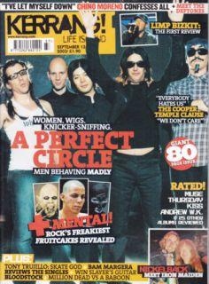 Placebo 27 Deftones A Perfect Circle Limp Bizkit Iron Maiden