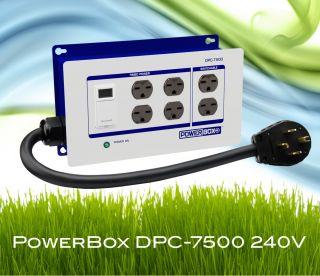 240 Volt Grow Lighting Controller Powerbox Grow Light Timer