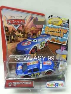 Disney Pixar Cars Lil Torquey Pistons Radiator Springs Classic with