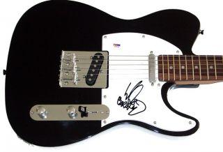 Limp Bizkit Wes Borland Autographed Signed Guitar Proof PSA UACC RD