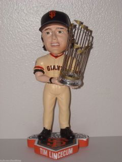 TIM LINCECUM San Francisco Giants Bobble Head 2010 World Series Champs