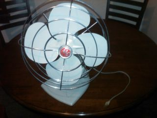 GE General Electric Fan Dual Speed Oscilating Gray