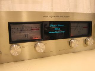 Vintage Phase Linear 700B Power Amplifier Works Great VGC