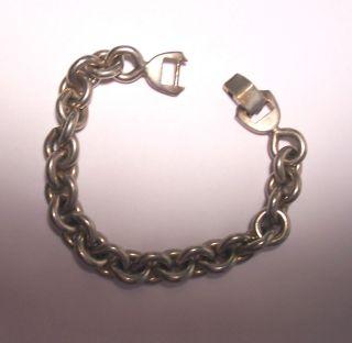 Vintage Sperry Signed Chain Link Bracelet