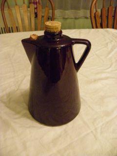Antique Teapot Liquor Bottle Decanter Leroux Liqueurs