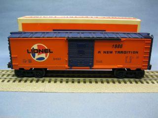 Lionel Trains 6 9492 Lionel Lines Box Car