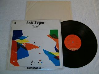 Bob Seger Seven 1974 Rock LP on Capitol Nice VG Vinyl