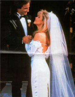 Clint Lisa Hartman Black Wedding Day Poster from A 1992 Magazine G