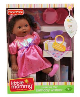 Little Mommy Sweet as Me Birthday Wishes Doll Kids Toy