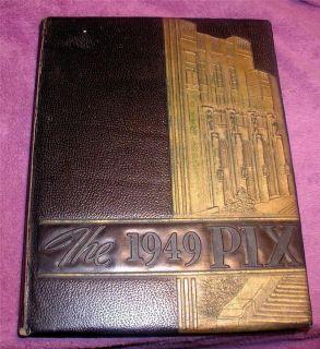 1949 Little Rock High School Yearbook Little Rock Arkansas The PIX