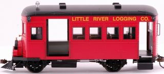 Scale Train Rail Bus DCC Equipped Little River Logging 28463