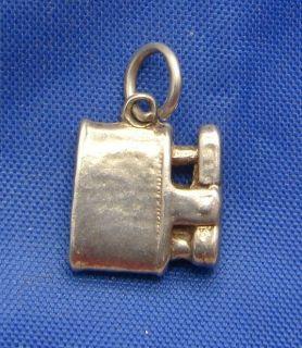 Vintage English Sterling Silver Cigarette Lighter Charm
