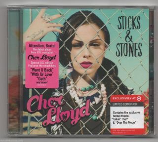 Cher Lloyd Sticks Stones CD Target Exclusive CD 2 Bonus Tracks