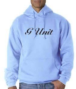 Unit Logo Hoodie 50 Cent Lloyd Banks Hip Hop Rap Pullover Sweatshirt