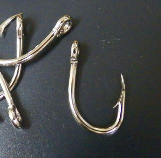 25 Live Bait Size 1 Magnum Strong Sharp Heavy Duty Fish Hook Eagle
