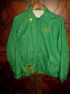Swingster 70s Nylon Windbreaker Jacket Livermore Marching Band