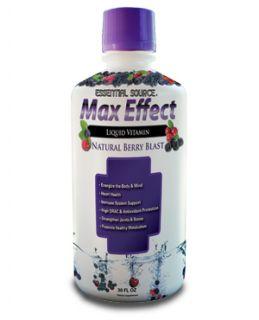 Max Effect Liquid Multi Vitamin 32 oz Bottle