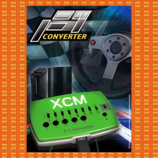 XCM F1 Converter Adapter for Logitech Racing Wheel G25 G27 or GT Wheel