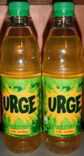 Surge Soda from Coca Cola Norway THREE 5 Liter 500 ml Bottles FULL