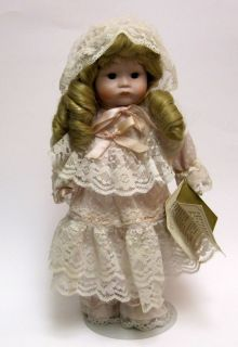 Hand Painted Porcelain Doll Seymour Eda Mann 1986 #383 Limited Edition