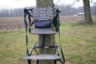 LONE WOLF TREE STAND SIT AND CLIMB COMBO COMFORT SEAT MADE IN U S A