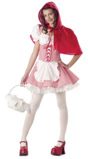Child Little Red Riding Hood Tween Jr Halloween Costume