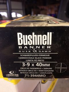 Bushnell Banner Rifle Scope New 3x9x40 Leupold Simmonds Type