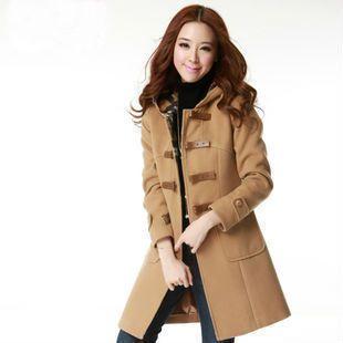 2012 New Autumn Winter Fashion Woman London Style Wool Coat