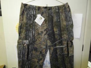 Heavy Fleece Pants Longleaf Camo Hunting w Windstop XL Men