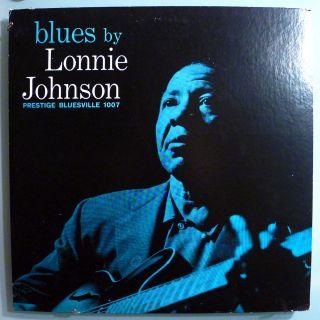 Lonnie Johnson Blues by Lonnie Ultra RARE Orig 60 Bluesville Mono LP