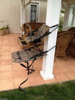 Lone Wolf Hunters Tree Climbing Seat Chair Stand Platform