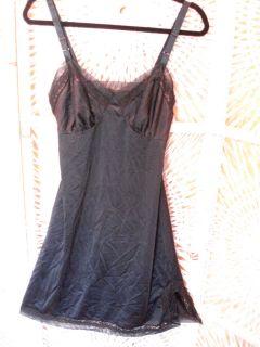 Vintage Lorraine Black Full Slip 34 See All Slips Listed