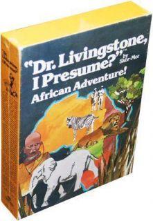 Dr. Livingstone, I Presume? African Adventure board game (Skor Mor