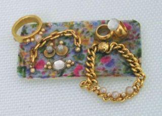 12 Chintz Tray Jewelry Kit by Lori Ann Potts