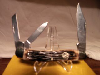 Solingen Germany Boker Whittler Pocket Knife New