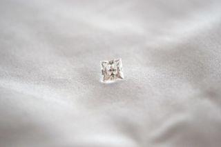 New 40 Ct Lab Lannyte Princess Cut Diamond Loose Stone