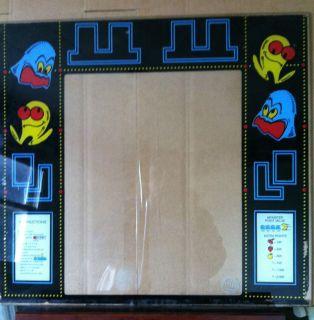 Midway Pac Man Glass Bezel