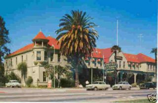 Los Gatos CA PC Hotel Lyndon Hotel 1950s Mint Unused