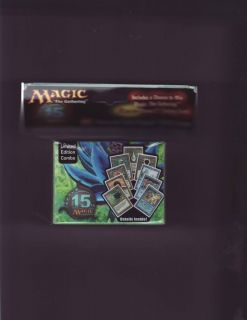 ULTRA PRO MAGIC BLACK LOTUS DECK BOX & 80 SLEEVES 15TH ANNIVERSARY