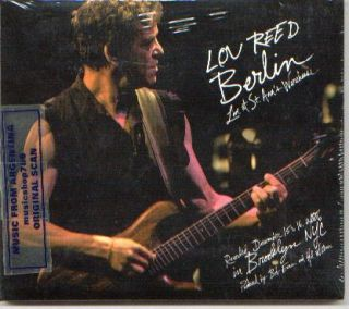 LOU REED, BERLIN LIVE AT ST. ANN`S WAREHOUSE. RECORDED LIVE AT ST