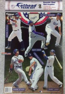 2011 Los Angeles Dodgers Fathead Mini Team Decal Set 6