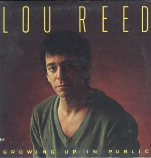 Lou Reed Growing Up in Public LP VG NM USA Arista