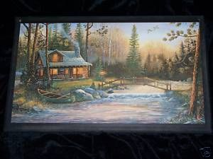 Log Cabin Signs Rustic Lodge Theme wall decor plaques country cabins