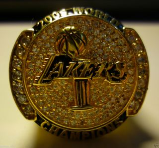 2009 Los Angeles Lakers NBA Championship Ring