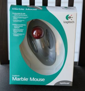 Logitech Optical Marble Mouse USB PS2 Brand New in SEALED Box