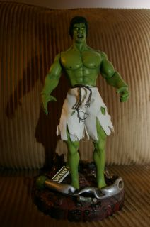 CUSTOM 12 INCH LOU FERRIGNO INCREDIBLE HULK STAND MEGO AVENGERS MARVEL