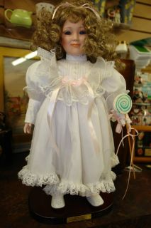 Gustave F Wolff Original Designer Lollipop Doll Signed Numbered with