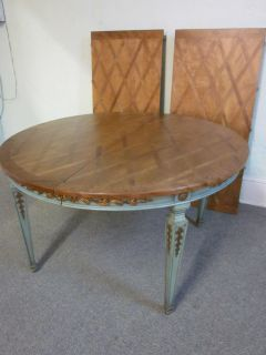 Custom Louis XVI French Round Dining Table