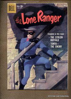 1959 Dell Comic Book Lone Ranger 129 Photo Cover VF NM