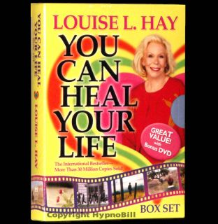 You Can Heal Your Life DVD BOOK Louise L Hay BOX SET Affirmations Life